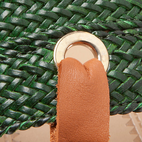 Buy John Lewis Woven Leather Rio Flip Flop Sandals Online at johnlewis.com