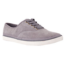 Buy Polo Ralph Lauren Oran Suede Trainers, Grey Online at johnlewis.com