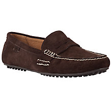 Buy Polo Ralph Lauren Wes Suede Loafers Online at johnlewis.com