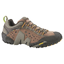 Buy Merrell Intercept Leather Walking Shoes Online at johnlewis.com