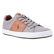 Buy Polo Ralph Lauren Jael Canvas Trainers Online at johnlewis.com