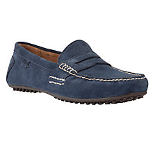 Buy Polo Ralph Lauren Wes Suede Loafers, Navy Online at johnlewis.com