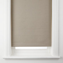 Buy John Lewis Hessian Blackout Roller Blind, Natural Online at johnlewis.com