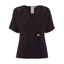 Buy White Stuff Windmill Cardigan, Blackcurrant Online at johnlewis.com