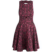 Buy Almari Jacquard Dress, Fuchsia Online at johnlewis.com