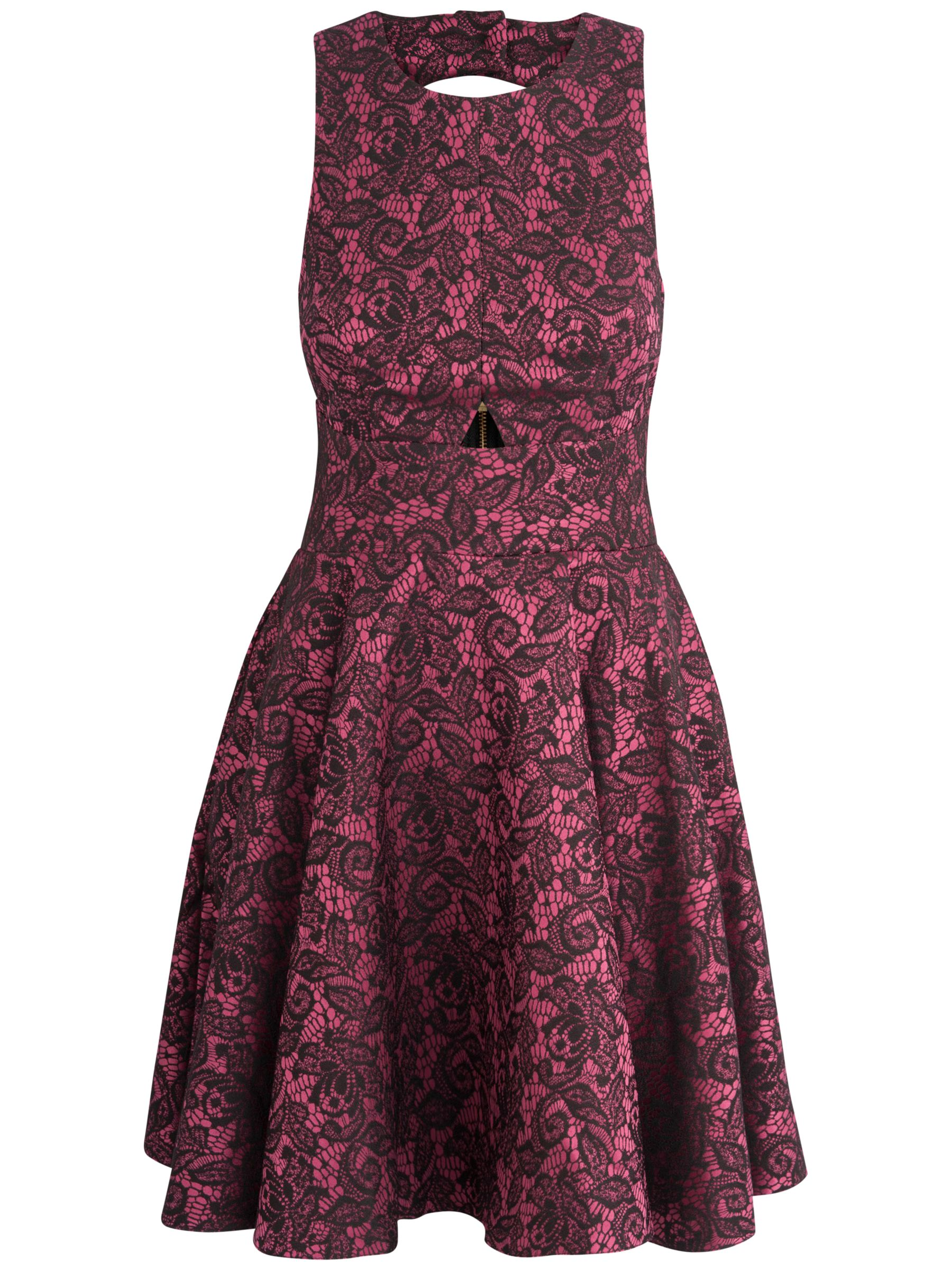 almari jacquard dress fuchsia, almari, jacquard, dress, fuchsia, 8 10 14 12, women, womens dresses, special offers, womenswear offers, womens dresses offers, 907073