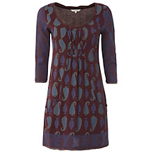 Buy White Stuff Tula Tunic Dress, Aubergine Online at johnlewis.com