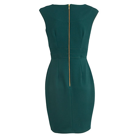 Buy Almari Double Waistband Dress, Teal Online at johnlewis.com