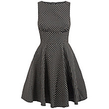 Buy Almari Cut-Out Dotty Dress, Multi Online at johnlewis.com