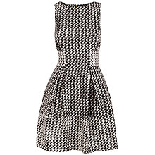 Buy Almari Contrast Dress, Black/White Online at johnlewis.com