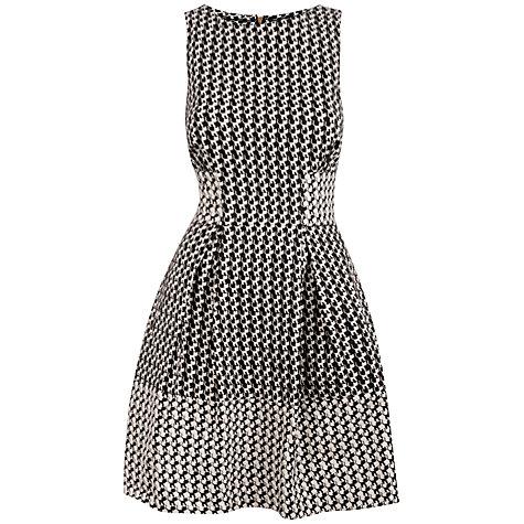 Buy Almari Contrast Dress, Black/White Online at johnlewis.com