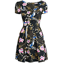 Buy Almari Bird Print Dress, Multi Online at johnlewis.com