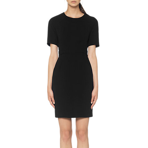 Buy Whistles Blake Dress, Black Online at johnlewis.com