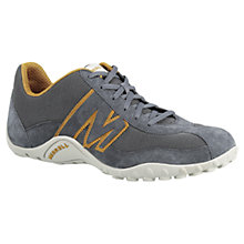 Buy Merrell Sprint Blast Leather Trail Running Shoes, Dark Earth Online at johnlewis.com