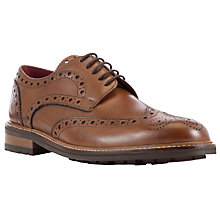 Buy JOHN LEWIS & Co. Durham Wingtip Brogues, Tan Online at johnlewis.com