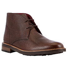 Buy JOHN LEWIS & Co. Cheshire Chukka Nut Boots, Brown Online at johnlewis.com