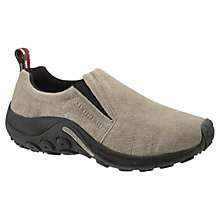 Buy Merrell Suede Slip On Shoes, Taupe Online at johnlewis.com