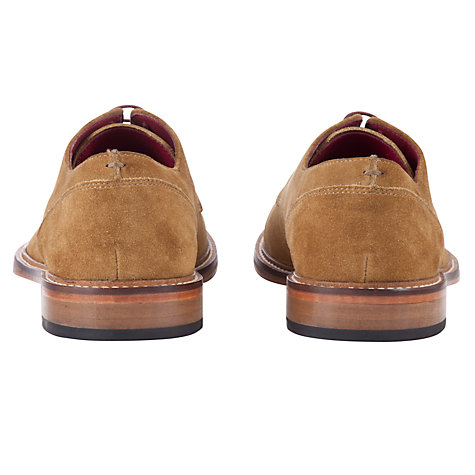 Buy JOHN LEWIS & Co. Dorset Suede Derby Shoes, Tan Online at johnlewis.com