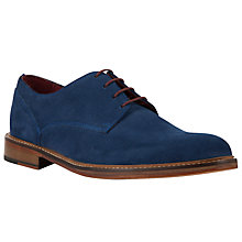 Buy JOHN LEWIS & Co. Dorset Suede Derby Shoes, Blue Online at johnlewis.com