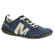 Buy Merrell Leather Mesh Trainers, Denim Online at johnlewis.com