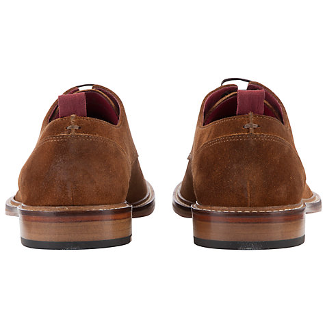 Buy JOHN LEWIS & Co. Surrey Burnished Suede Derby Shoes, Brown Online at johnlewis.com
