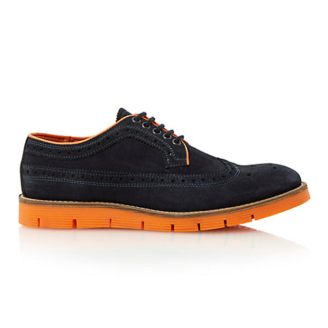 Buy Dune Bonkers Suede Brogue Shoes Online at johnlewis.com