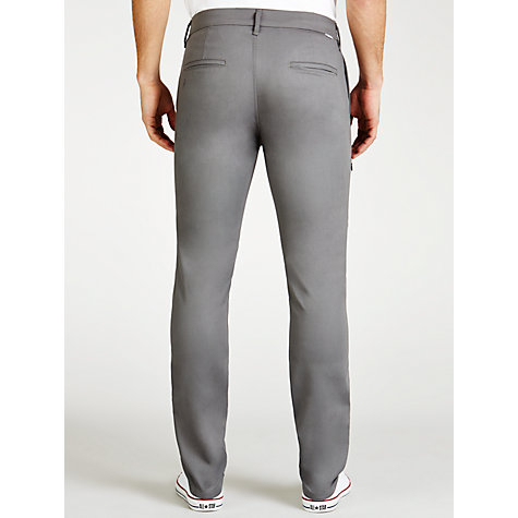 Buy Levi's Commuter 508 Regular Tapered Water Resistant Trousers, Pewter Online at johnlewis.com