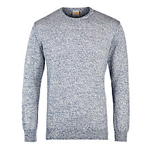 Buy Carhartt Toss Mouline Knit Jumper, Metro Heather Online at johnlewis.com