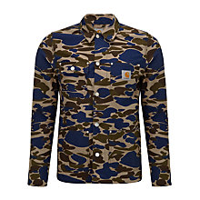 Buy Carhartt Michigan Camo Jacket, Hamilton Brown Online at johnlewis.com