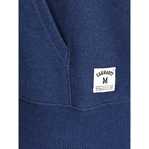 Buy Carhartt Holbrook Hooded Sweatshirt, Blue Online at johnlewis.com