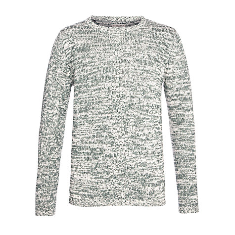 Buy Selected Homme Street Crew Neck Jumper, Green Online at johnlewis.com