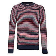 Buy Selected Homme Russel Crew Neck Jumper, Navy Online at johnlewis.com
