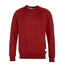 Buy Carhartt Holbrook Jersey Sweatshirt, Cordovan Heather Online at johnlewis.com