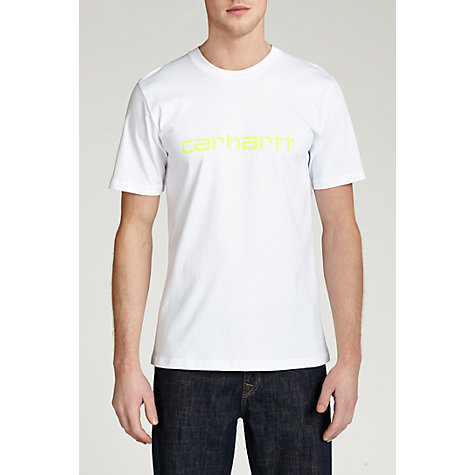 Buy Carhartt Scripted Logo T-Shirt Online at johnlewis.com