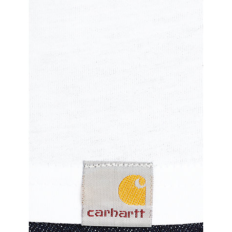Buy Carhartt Stamp Crew Neck T-Shirt, White Online at johnlewis.com