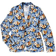 Buy Original Penguin Floral Blazer, Blue/Brown Online at johnlewis.com