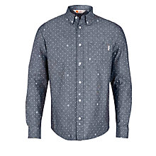 Buy Carhartt Crandall Dot Print Shirt, Blue Online at johnlewis.com
