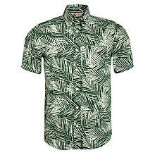 Buy Carhartt Cayman Short Sleeve Shirt, Green Online at johnlewis.com