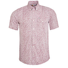 Buy Carhartt Langley Floral Short Sleeve Shirt, Red Online at johnlewis.com