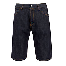 Buy Carhartt Skill Denim Shorts, Blue Rinsed Online at johnlewis.com