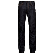 Buy Carhartt Texas Slim Fit Jeans, Blue Rigid Online at johnlewis.com