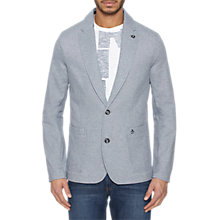 Buy Original Penguin Cotton Mix Blazer, Dark Denim Online at johnlewis.com
