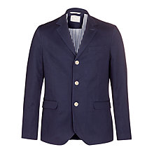 Buy Selected Homme Stevenson Blazer, Navy Online at johnlewis.com