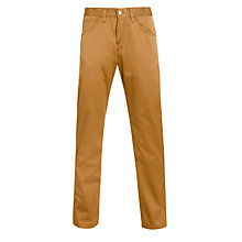 Buy Carhartt Skill Chinos, Hamilton Brown Rinsed Online at johnlewis.com
