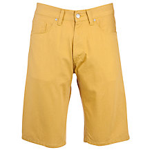 Buy Carhartt Viscious Casual Shorts, Saffron Rinsed Online at johnlewis.com