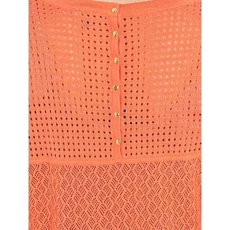Buy Warehouse Popper Back Pointelle Jumper Online at johnlewis.com