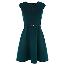 Buy Oasis Sophie Skater Dress, Turquoise Online at johnlewis.com