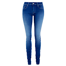 Buy Salsa Jeans Colette Mid Rise Washed Jeans, Blue Online at johnlewis.com