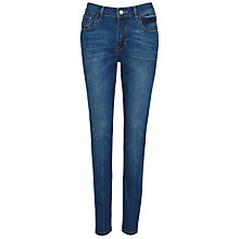Buy Levi's High Rise Skinny Jean, Blue Lagoona Online at johnlewis.com