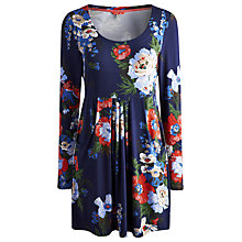 Buy Joules Alexi Floral Tunic Dress, Navy Bouquet Online at johnlewis.com